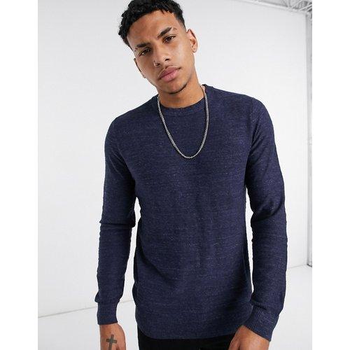 Sweat-shirt ras de cou - Bleu marine - Selected Homme - Modalova