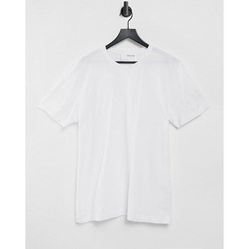 T-shirt décontracté en piqué - Selected Homme - Modalova