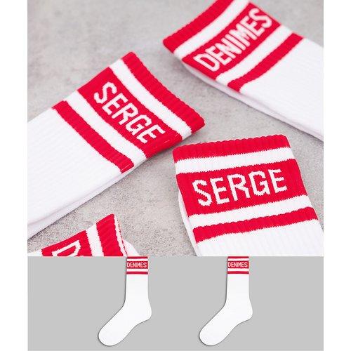 Lot de 2paires de chaussettes - Serge DeNimes - Modalova