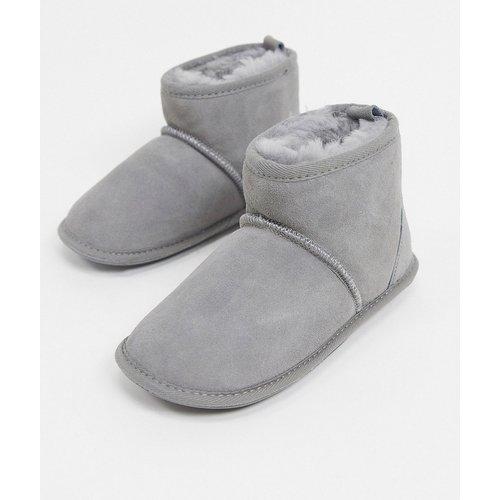 Chaussons style bottines à enfiler - Sheepskin by Totes - Modalova
