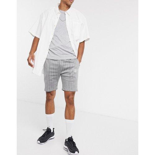 Short habillé plissé - Rayures - SikSilk - Modalova