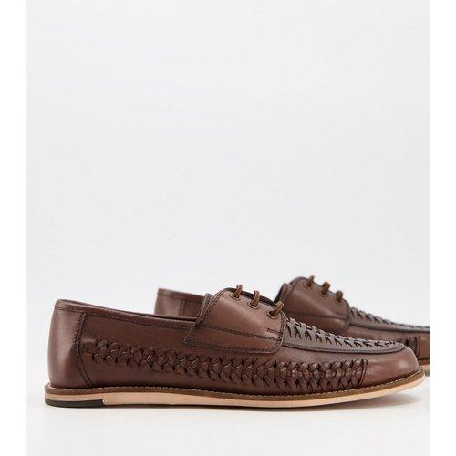 Chaussures en cuir tressé à lacets - Silver Street - Modalova