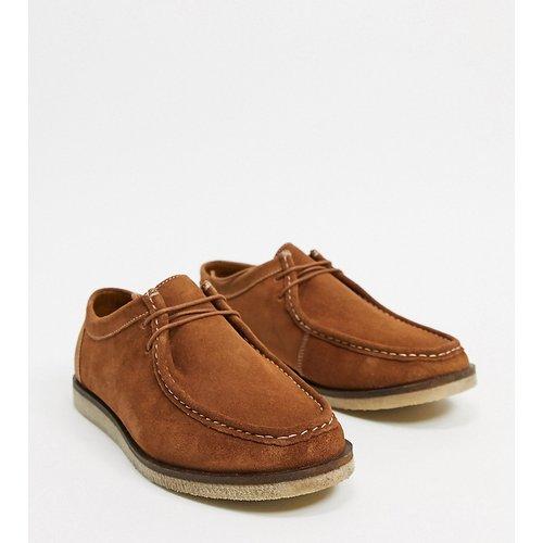 Chaussures pointure large en daim - Fauve - Silver Street - Modalova