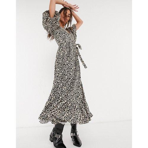 Robe longue à manches bouffantes - Léopard - sister jane - Modalova