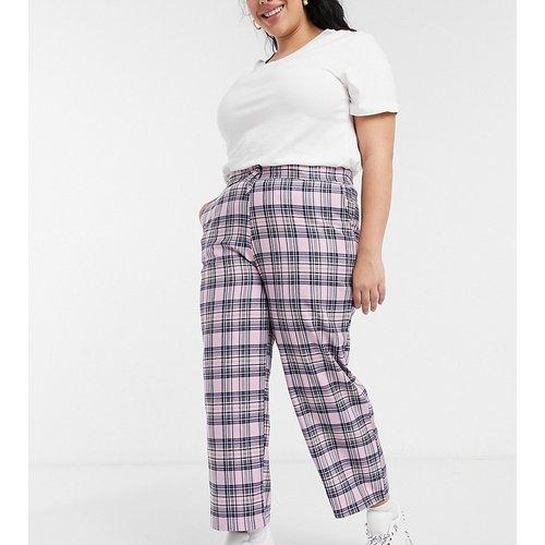 Pantalon décontracté à carreaux - Skinnydip Curve - Modalova