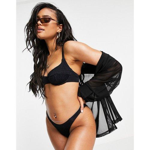 Haut de bikini à armatures effet froissé - South Beach - Modalova