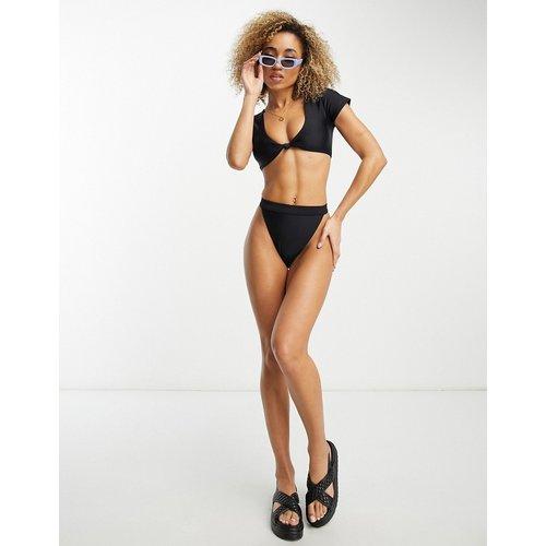 Mix & Match - Haut de bikini à mancherons - South Beach - Modalova
