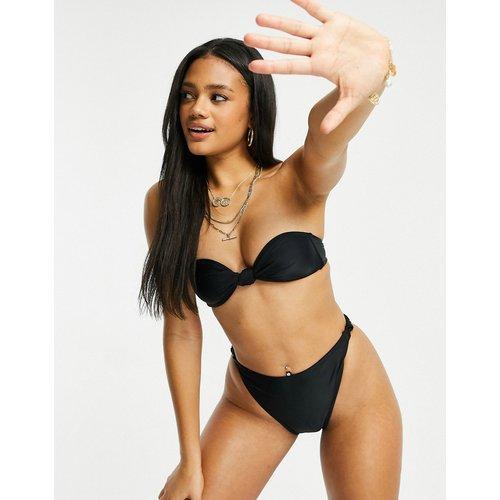 Mix & Match - Haut de bikini bandeau noué - South Beach - Modalova