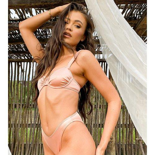 X Natalya Wright - Exclusivité - Bas de bikini échancré - thé - South Beach - Modalova