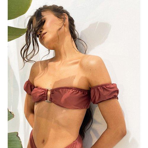 X Natalya Wright - Exclusivité - Haut de bikini à épaules nues - South Beach - Modalova