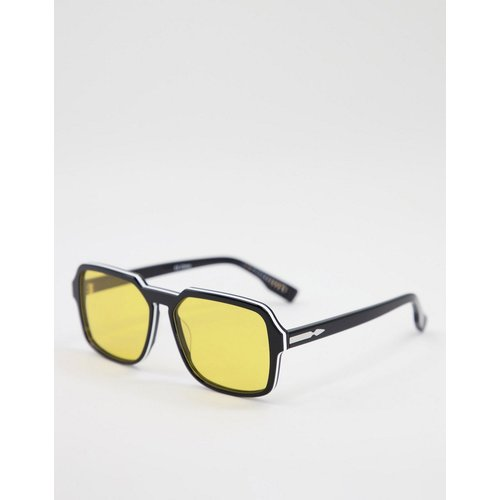 Cut Twent - Lunettes de soleil unisexes carrées à verres jaunes - Spitfire - Modalova
