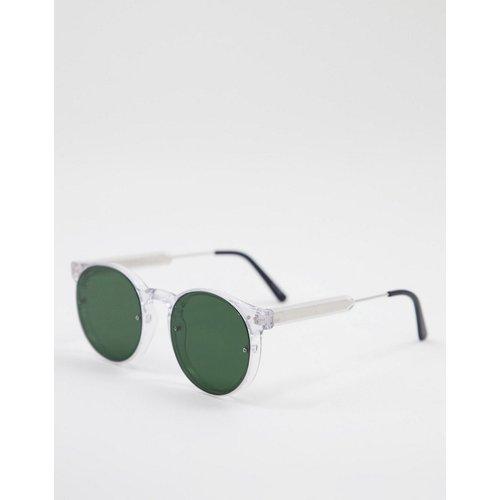 Post Punk - Lunettes de soleil rondes unisexes à verres verts - Spitfire - Modalova