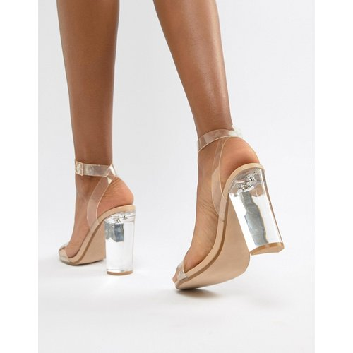 Camille - Chaussures à talon transparent en Plexiglas - Steve Madden - Modalova