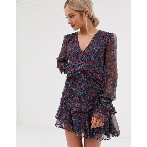 Merci - Robe courte à fleurs et à manches larges - Stevie May - Modalova