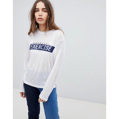STYLENANDA - T-shirt à manches longues - STYLE NANDA - Modalova