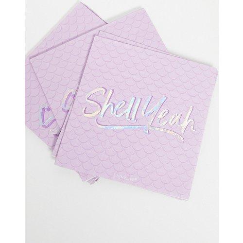 Lot de 20serviettes à inscription Shell Yeah - Lilas - Sunnylife - Modalova