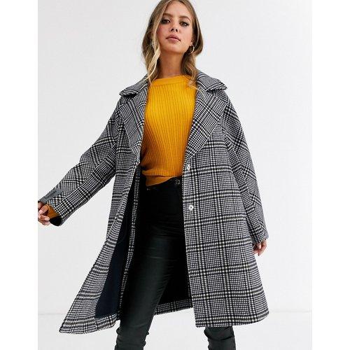 Koben - Manteau en laine à carreaux - Superdry - Modalova