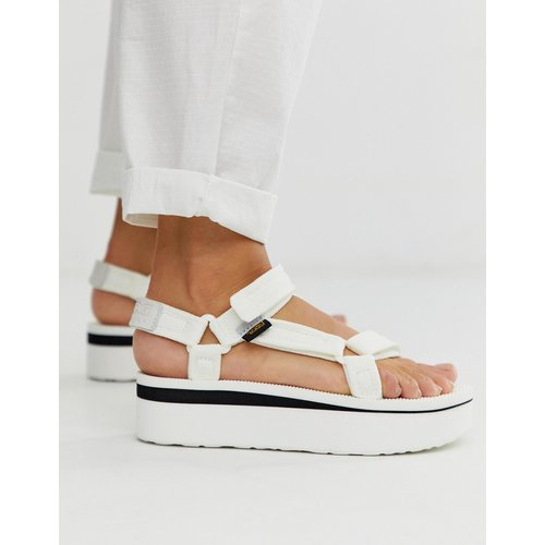 Flatform Universal - Grosses sandales imprimées en maille - Teva - Modalova