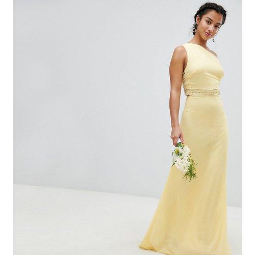 Robe longue de demoiselle d'honneur ornée - TFNC Petite - Modalova