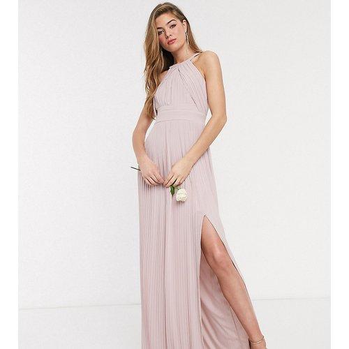 Exclusivité - Robe longue plissée de demoiselle d'honneur - TFNC Tall - Modalova
