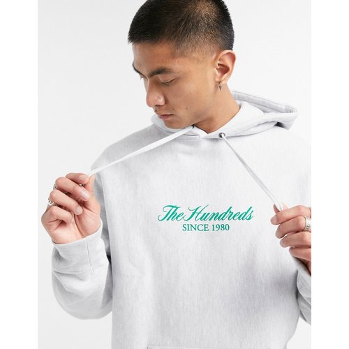 Rich - Hoodie à inscription en cursive - Noir - The Hundreds - Modalova
