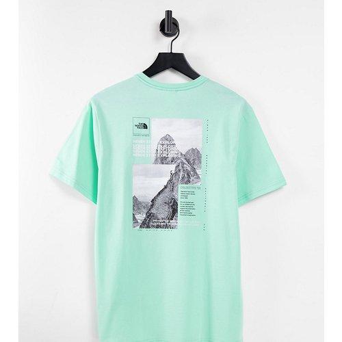 Collage - T-shirt - /blanc - Exclusivité ASOS - The North Face - Modalova