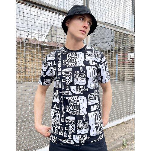Distorted - T-shirt imprimé à logo - The North Face - Modalova