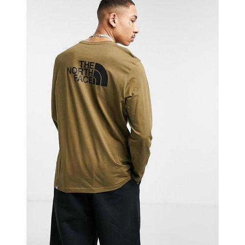Easy - T-shirt à manches longues - Kaki - The North Face - Modalova