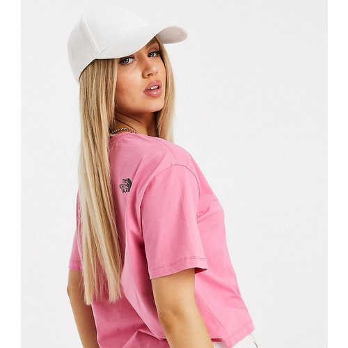 Exclusivité ASOS - Fine - T-shirt crop top - The North Face - Modalova