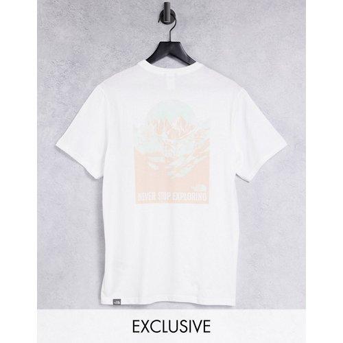 Exclusivité ASOS - Natural Wonders - T-shirt imprimé au dos - The North Face - Modalova
