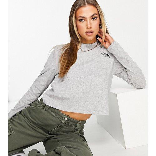 Exclusivité ASOS - T-shirt court à manches longues - The North Face - Modalova