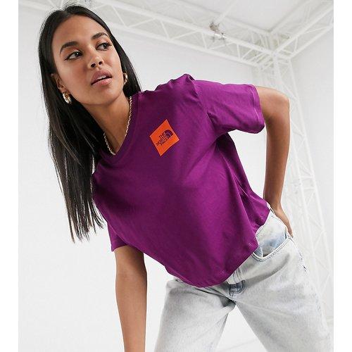 Fine - T-shirt crop top - - Exclusivité ASOS - The North Face - Modalova