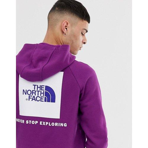 Hoodie à manches raglan à logo carré rouge - The North Face - Modalova