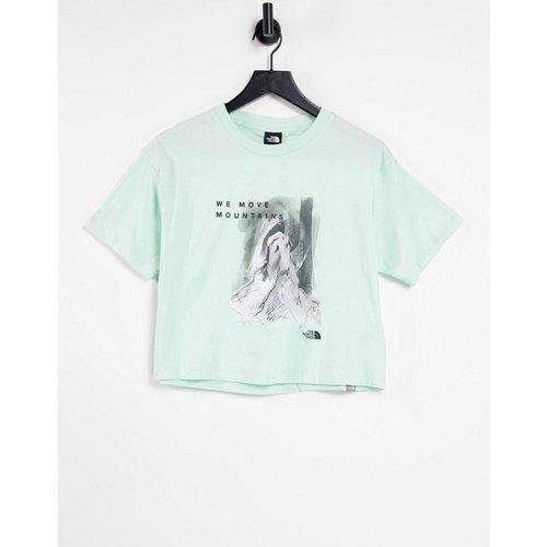 International Women's Day - T-shirt crop top - Menthe - The North Face - Modalova