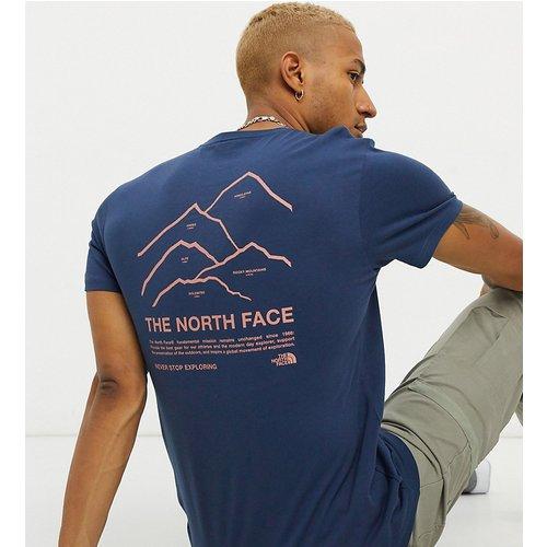 Peaks - T-shirt - - Exclusivité ASOS - The North Face - Modalova