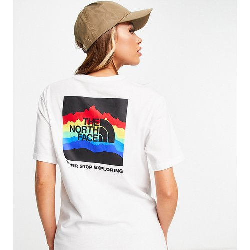 Rainbox - T-shirt - - Exclusivité ASOS - The North Face - Modalova