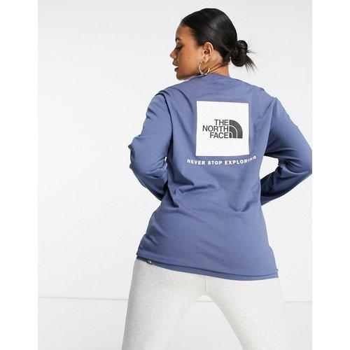 Red Box - T-shirt manches longues - Bleu - The North Face - Modalova