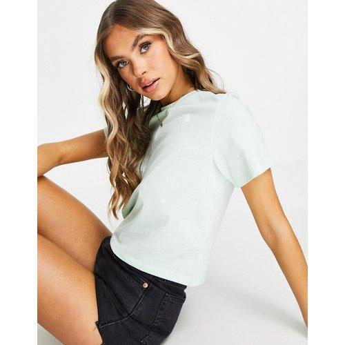 Seasonal - T-shirt crop top - Menthe - The North Face - Modalova