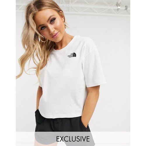 Exclusivité ASOS - - Simple Dome - T-shirt crop top - The North Face - Modalova