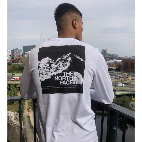 T-shirt manches longues à imprimé graphique montagne - - Exclusivité ASOS - The North Face - Modalova