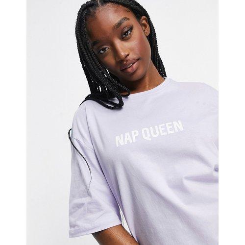 Loungewear - Nap Queen - Robe t-shirt bicolore - Threadbare - Modalova