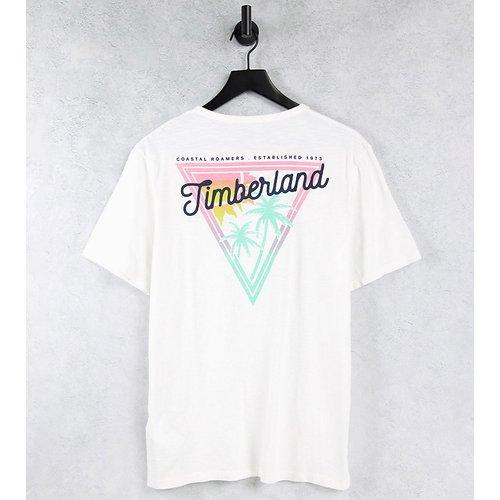 Coastal Roamers - T-shirt manches courtes - Blanc - Exclusivité ASOS - Timberland - Modalova