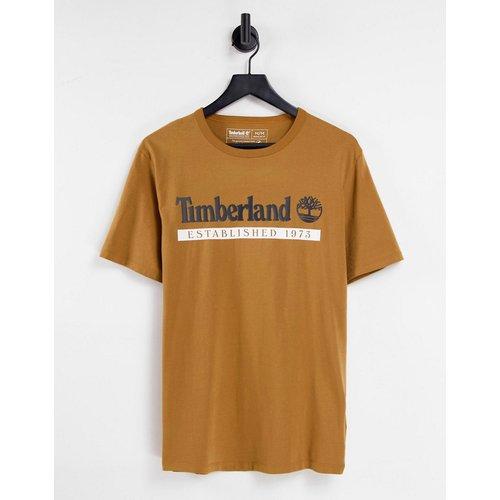 Established 1973 - T-shirt - Fauve blé - Timberland - Modalova