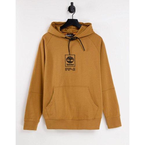 Hoodie épais avec logo empilé - Fauve blé - Timberland - Modalova
