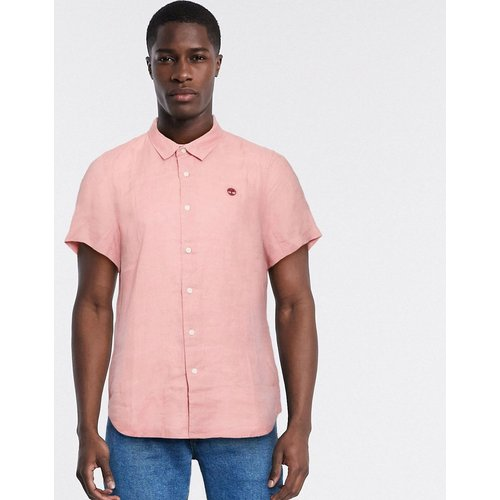 Mill River - Chemise manches courtes en lin - Timberland - Modalova
