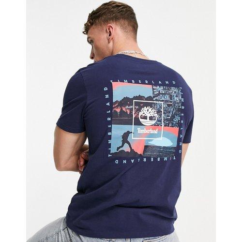 River - T-shirt à imprimé Summer Seasonal encadré au dos - Bleu - Timberland - Modalova
