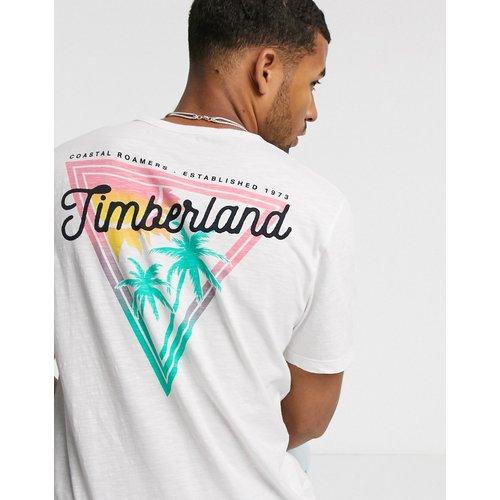 River - T-shirt avec imprimé au dos - Timberland - Modalova