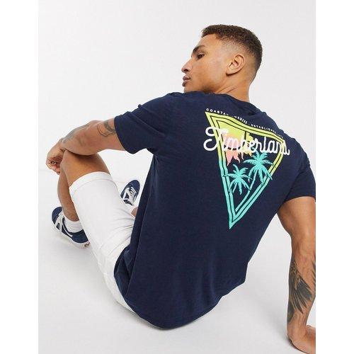 River - T-shirt imprimé au dos - Bleu marine - Timberland - Modalova