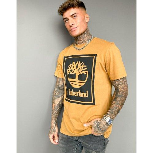 Stack - T-shirt à logo - Fauve blé - Timberland - Modalova