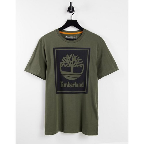 Stack - T-shirt à logo - Kaki - Timberland - Modalova